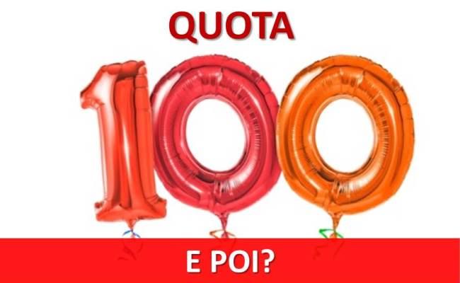 pensione con quota 100