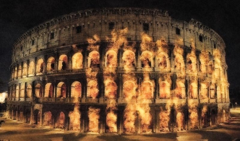 incendio roma antica